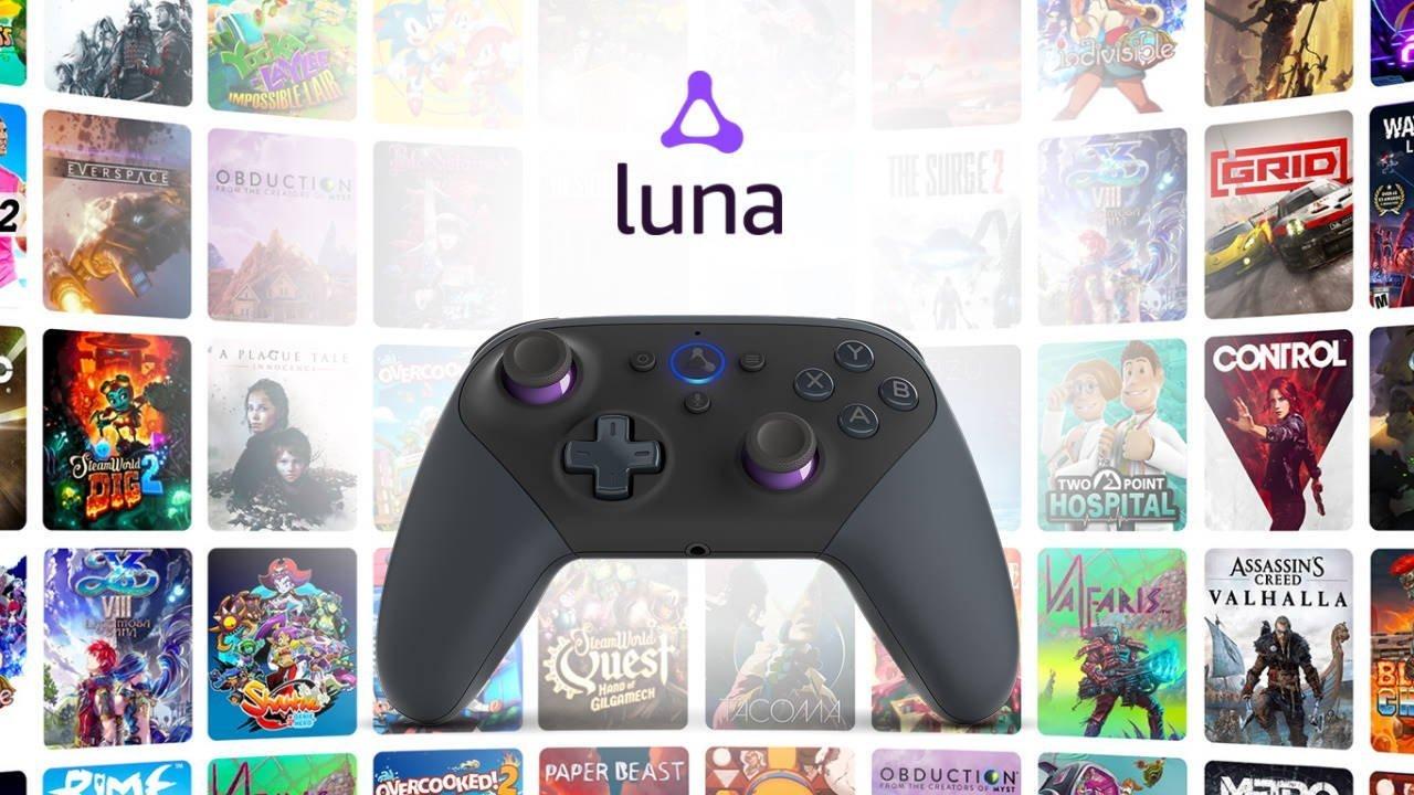 سرویس استریم بازی لونا کلاود آمازون برای رقابت با گوگل استادیا عرضه شد