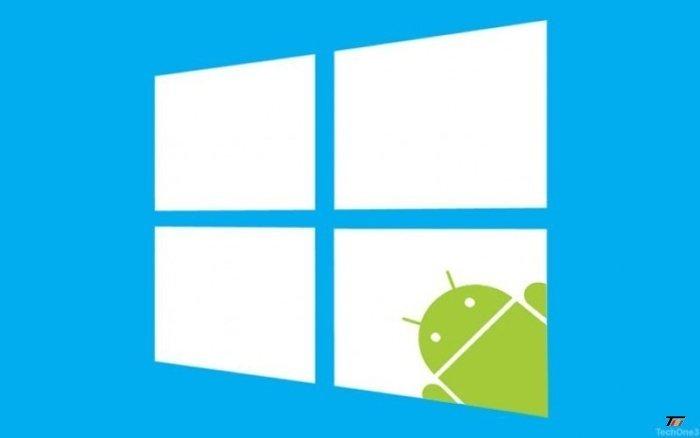 امکان استفاده برنامه های اندروید بر روی ویندوز 10 به زودی میسر میشود
