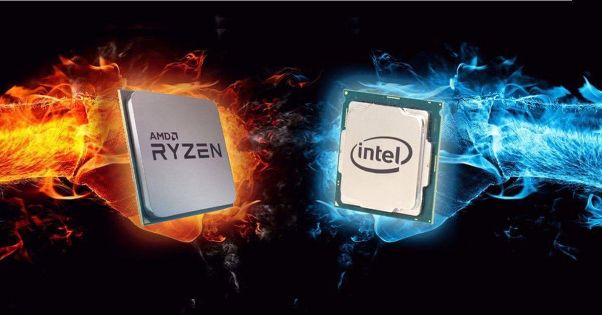 پردازنده دسکتاپ AMD در میزان سهم بازار بعد از سالها از Intel سبقت گرفت