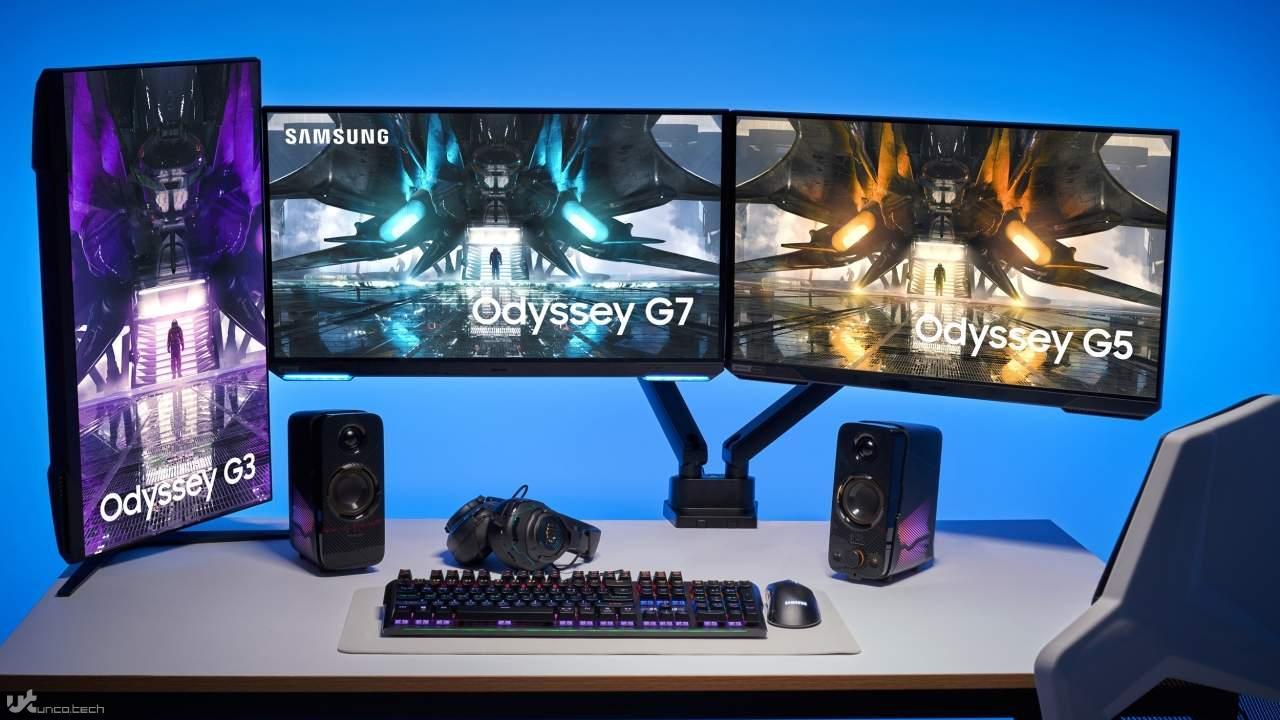 سری جدید صفحه نمایش های ادیسه سامسونگ 2021 معرفی شدند