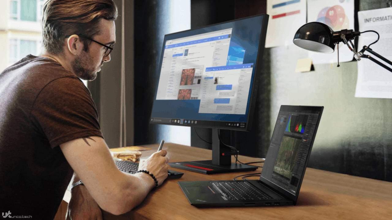 لپتاپ های لنوو ThinkPad X1 Extreme نسل چهارم با پردازنده گرافیکی NVIDIA GeForce RTX